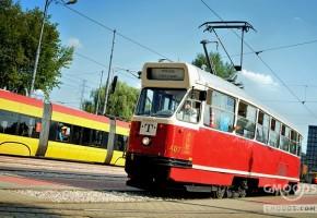 wieczór panieński Warszawa w imprezowym tramwaju