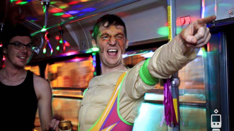 Impreza w Tramwaju Wieczór Kawalerski