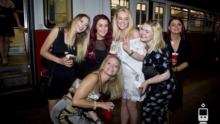 Impreza w Tramwaju wieczór panieński
