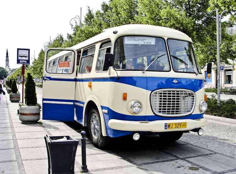 klasyczny ogorek bus